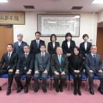 神奈川税務署に新年挨拶へ